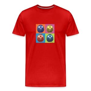 T-shirt premium pour hommes - Hérisson Pop hedgehog