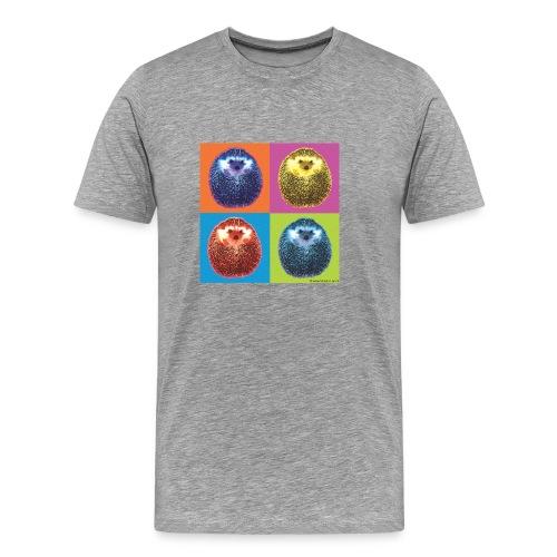 Men's Premium T-Shirt - Hérisson Pop hedgehog