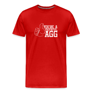 T-Shirts ~ Men's Premium T-Shirt ~ Men's Red F'AGG
