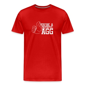 Men's Red F'AGG - Men's Premium T-Shirt