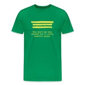 Censored - Men's Premium T-Shirt