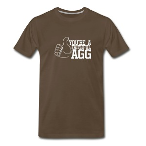 Men's LHT Brown F'AGG - Men's Premium T-Shirt