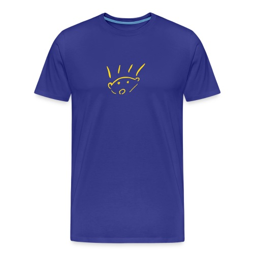 Men's Premium T-Shirt - Hérisson - hedgehog