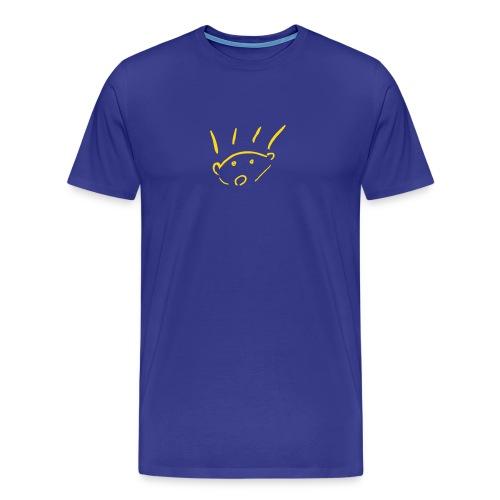 Men's Premium T-Shirt - Hérisson - hedgehog