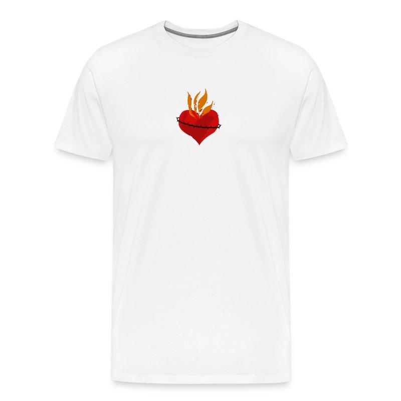 Sacred Heart of Jesus (mens) - Men's Premium T-Shirt