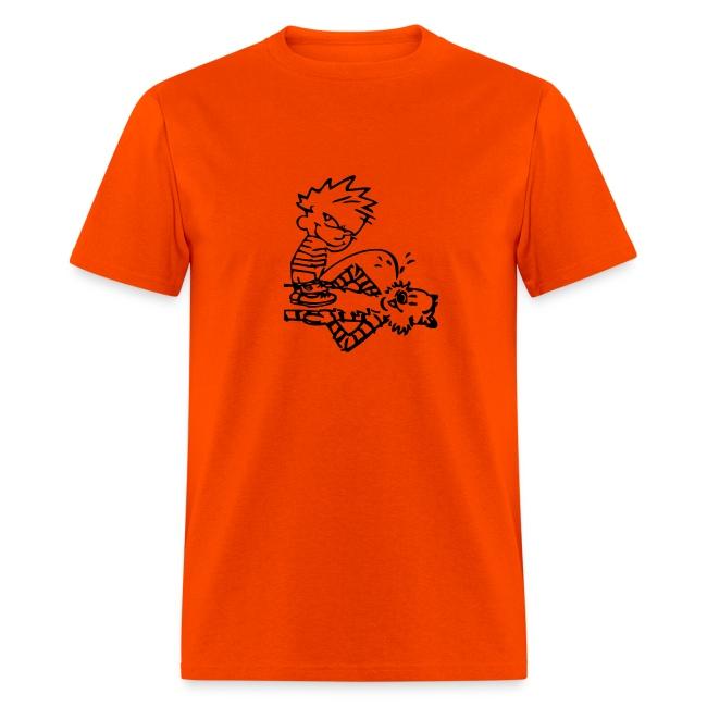 Calvin & Hobbes: Golden Showers (orange)