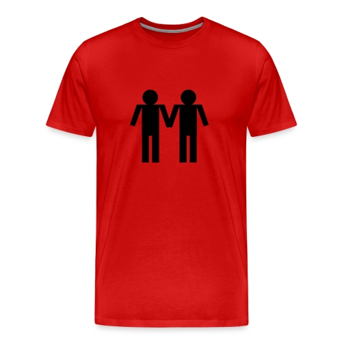 Male couple - Men's Premium T-Shirt