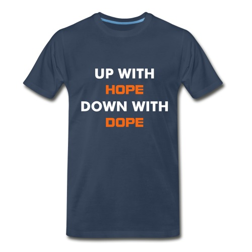 Up with hope - Men's Premium T-Shirt