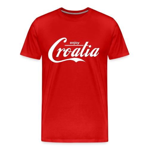 enjoy Croatia - Men's Premium T-Shirt