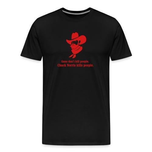 Double-Chuck T - Men's Premium T-Shirt