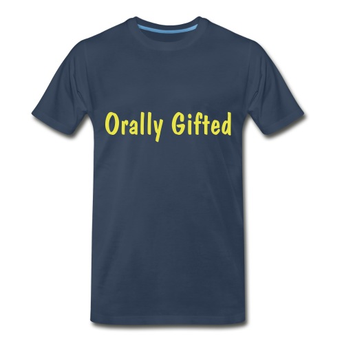 Orally Gifted Heavyweight T - Men's Premium T-Shirt