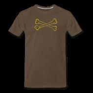 T-Shirts ~ Men's Premium T-Shirt ~ [crossbones]