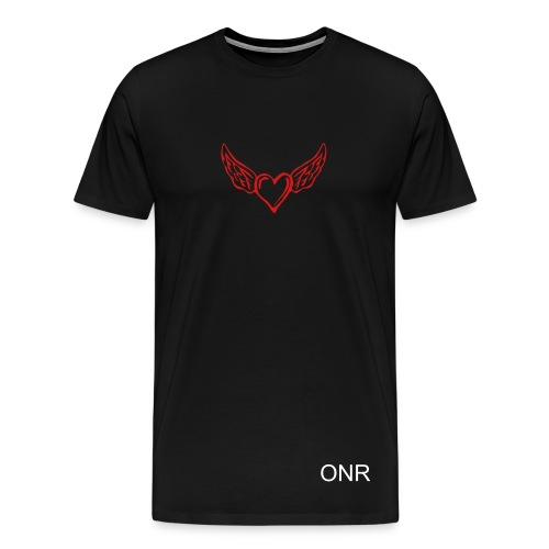 heart wing - Men's Premium T-Shirt