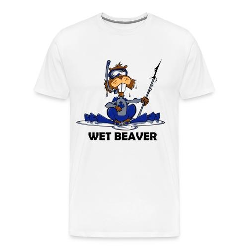 Wet Beaver - Men's Premium T-Shirt