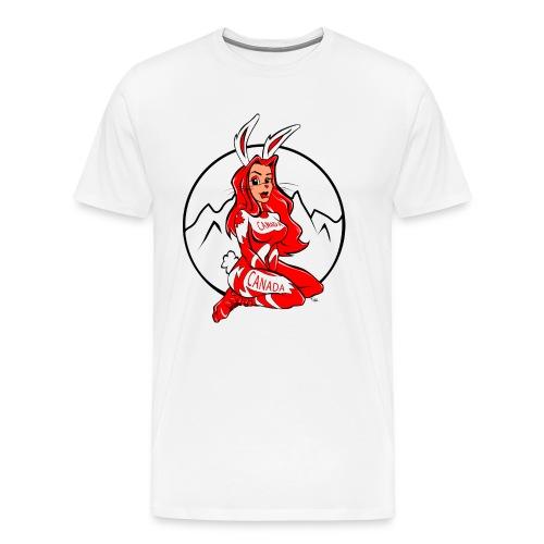 Ski Bunny - Men's Premium T-Shirt