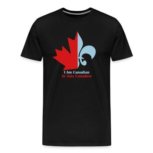 Je Suis Canadian - Men's Premium T-Shirt