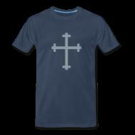 T-Shirts ~ Men's Premium T-Shirt ~ Cross (men's)