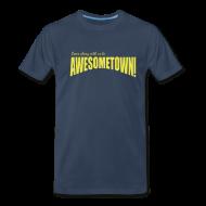 T-Shirts ~ Men's Premium T-Shirt ~ Navy A-Town