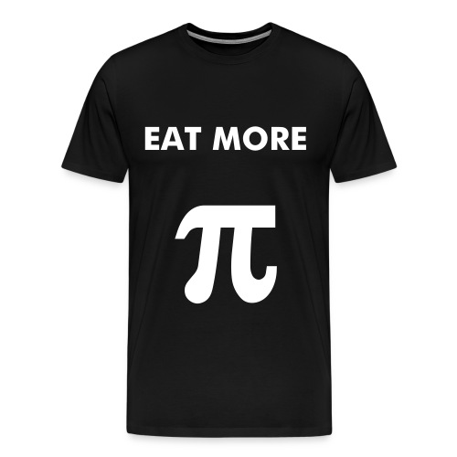 Eat more Pi - Men's Premium T-Shirt
