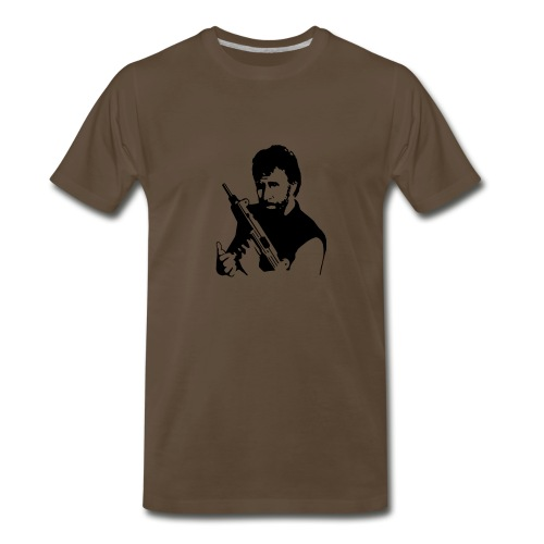 Chuck... Lock and Load - Men's Premium T-Shirt