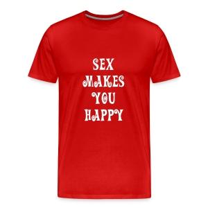 Sex = Happy - Men's Premium T-Shirt