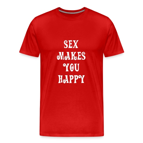 Sex = Happy - Men's Premium T-Shirt