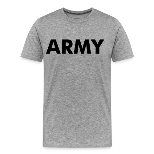 Support our troops. - Men's Premium T-Shirt