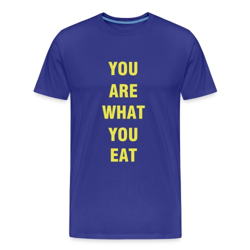 What are you eating? - Men's Premium T-Shirt