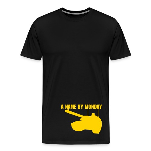 A Name By Monday - Men's Premium T-Shirt