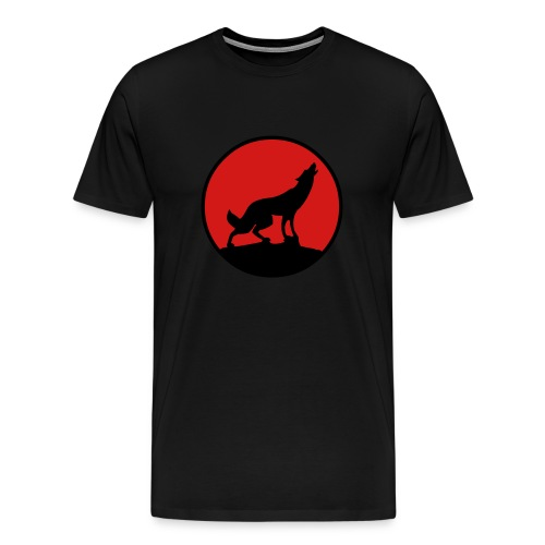 Coyote Tee (Black) - Men's Premium T-Shirt