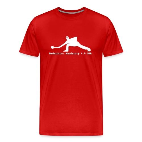 Badminton - Men's Premium T-Shirt