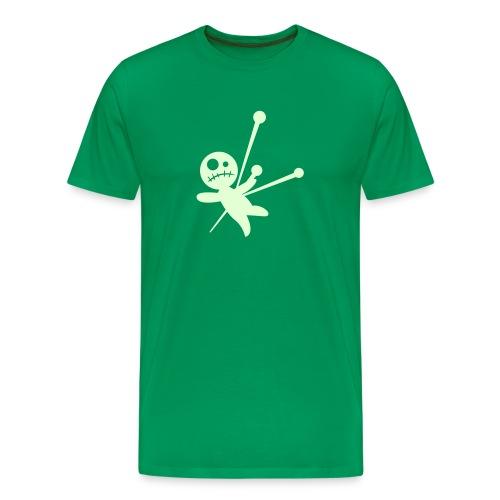 Glow In The Dark Vodoo Doll - Men's Premium T-Shirt