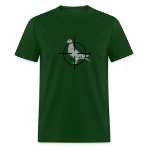 Pigeon's Final Moment - Men's T-Shirt