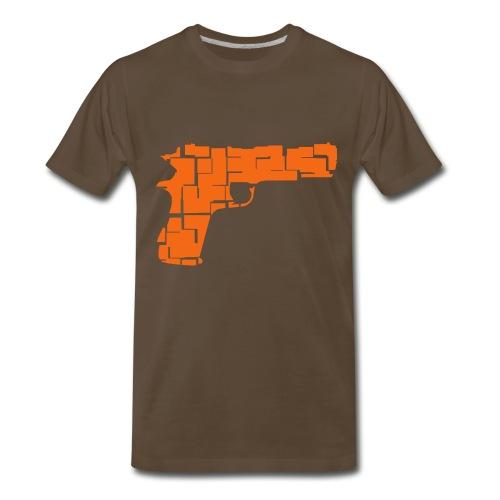 Je tire à vue - T-shirt premium pour hommes