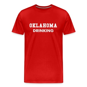 Oklahoma Drinking - Men's Premium T-Shirt