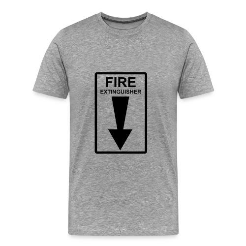 Fire Extinguisher - Men's Premium T-Shirt