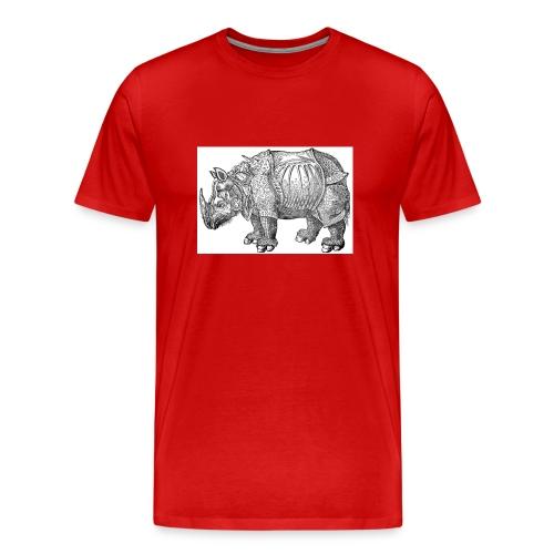 Red Rhino Tee - Men's Premium T-Shirt