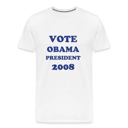 VOTE BARACK OBAMA PRESIDENT T SHIRT - Men's Premium T-Shirt