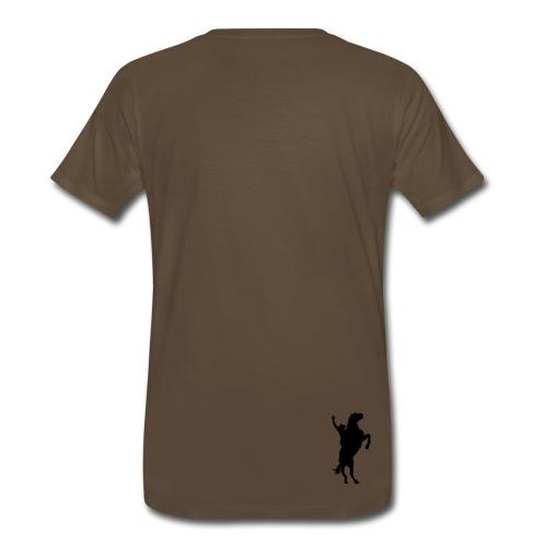 Cowboy Shirt (Mocha) - Men's Premium T-Shirt
