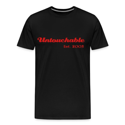 Untouchable XXXL T-Shirt (Black) - Men's Premium T-Shirt