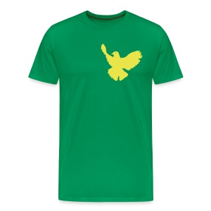 Dove Tee Green (Mens) - Men's Premium T-Shirt