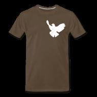 T-Shirts ~ Men's Premium T-Shirt ~ Dove Tee Chocolate (Mens)
