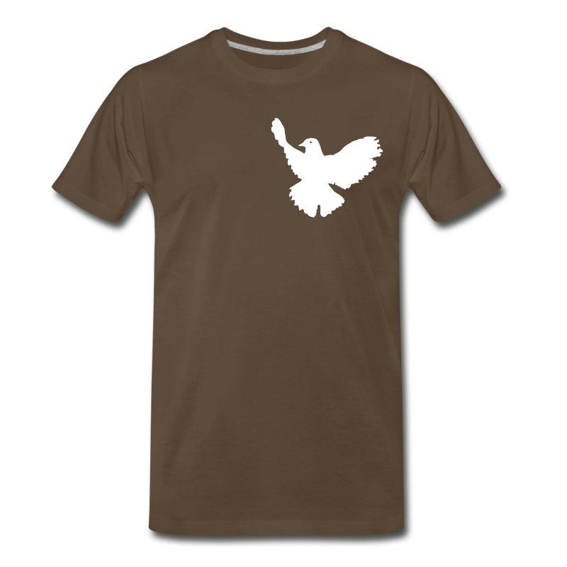 Dove Tee Chocolate (Mens) - Men's Premium T-Shirt