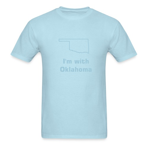 I'm With Oklahoma Tee - Men's T-Shirt