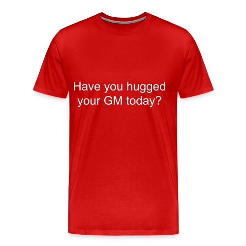 Have you...red 3X - Men's Premium T-Shirt