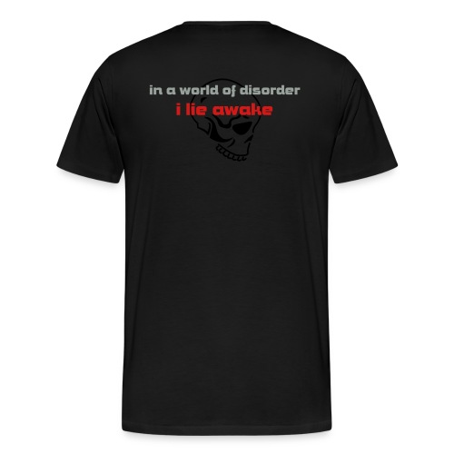 In a World Of Disorder - Men's Premium T-Shirt