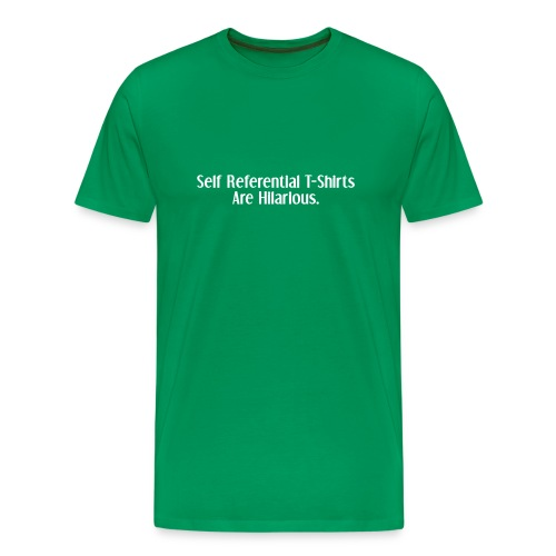 Self Reference - Men's Premium T-Shirt