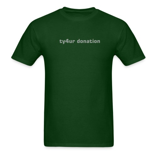 Thank You For Your Donation - Men's T-Shirt