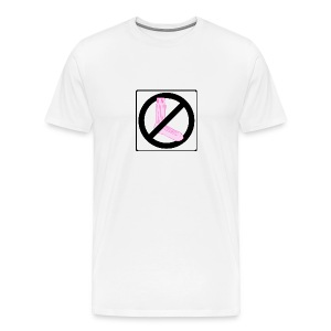 Don't Come At Me with No Pink Sock, Tee - Men's Premium T-Shirt