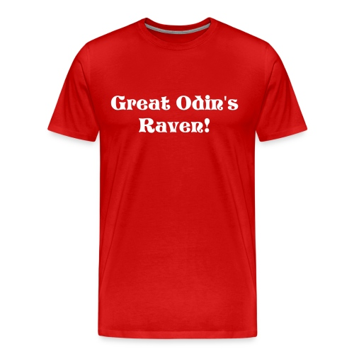 Great Odin's Raven - Men's Premium T-Shirt
